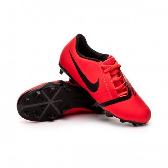 Bota  Nike Phantom Venom Club FG Niño Bright crimson-Black