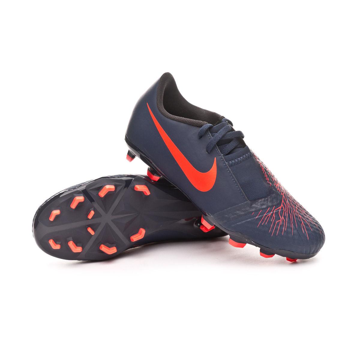 872d544fd Football Boots Nike Kids Phantom Venom Academy FG Obsidian-White ...