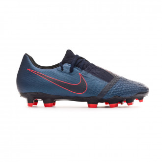 Football Boots  Nike Phantom Venom Academy FG Obsidian-White-Black-Racer blue