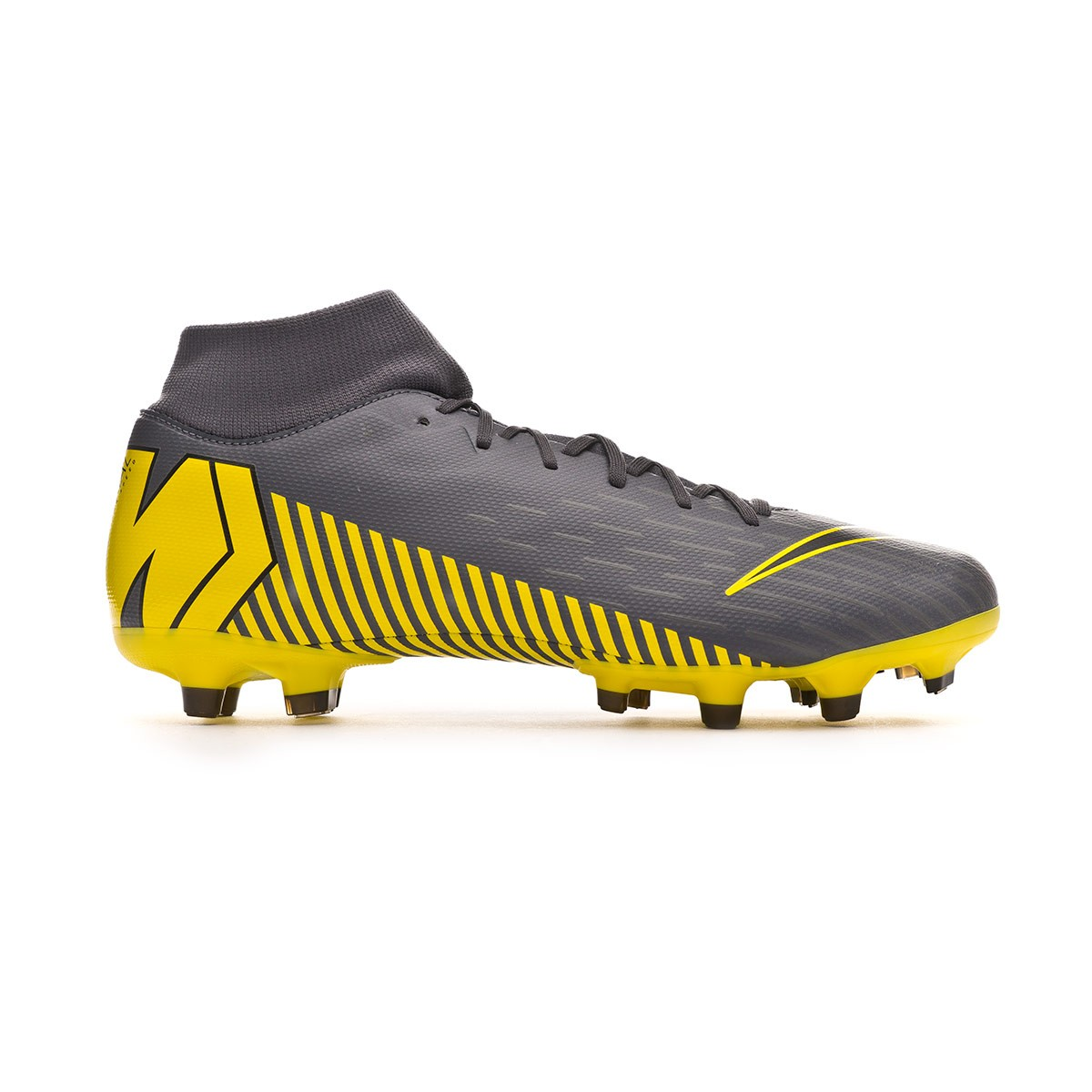 6b1528bb3 Football Boots Nike Mercurial Superfly VI Academy MG Dark grey-Black -  Tienda de fútbol Fútbol Emotion