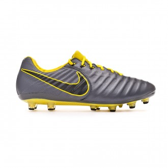 Chuteira Nike Tiempo Legend VII Elite AG-Pro Dark grey-Black-Optical yellow