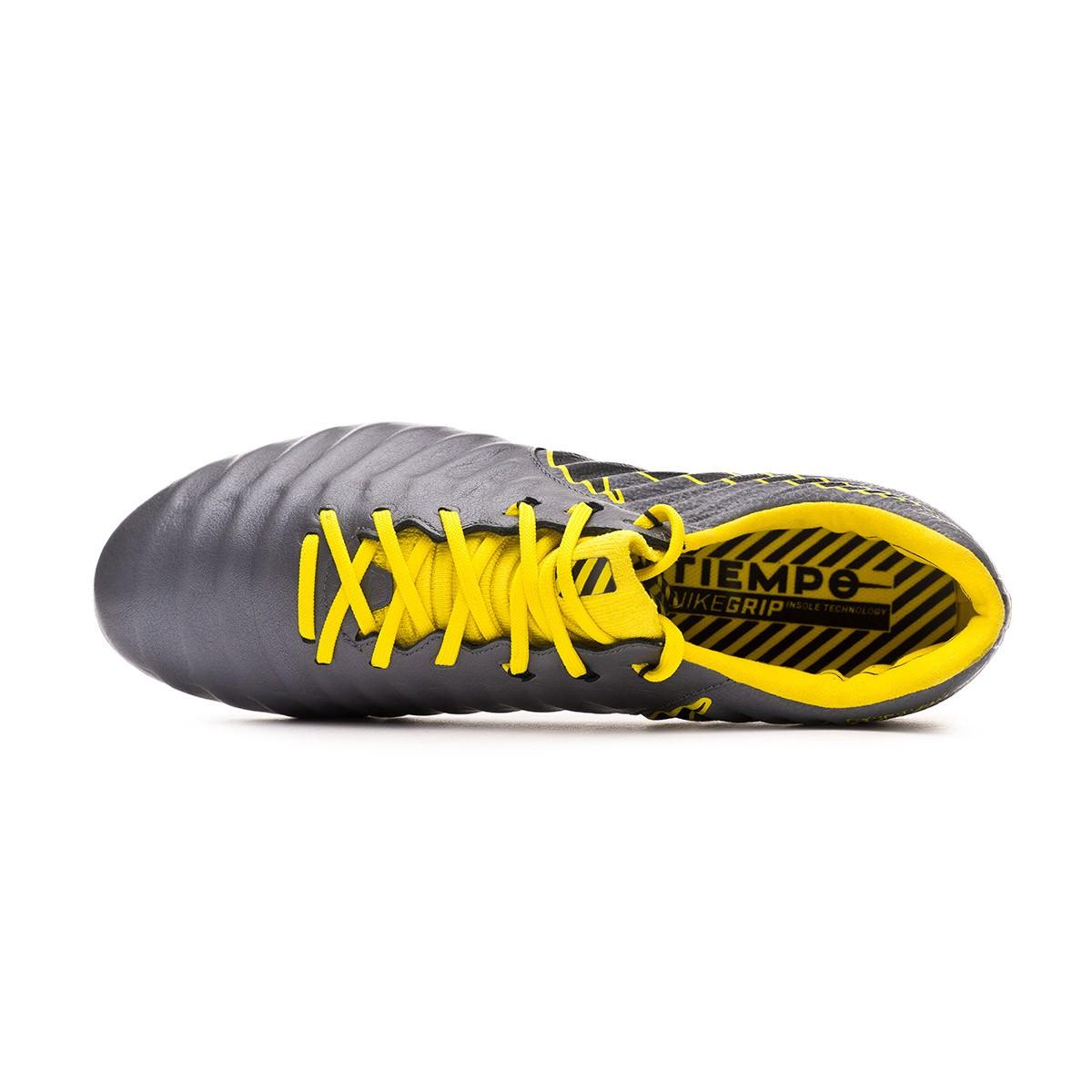5ec12e00b Football Boots Nike Tiempo Legend VII Elite AG-Pro Dark grey-Black-Optical  yellow - Football store Fútbol Emotion