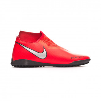 Zapatilla  Nike Phantom Vision Academy DF Turf Bright crimson-Metallic silver