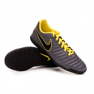 Scarpe Nike Tiempo LegendX VII Club IC Dark grey-Optical yellow-Black 838f45e5e03
