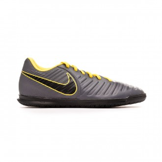 Futsal Boot  Nike Tiempo LegendX VII Club IC Dark grey-Optical yellow-Black