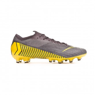 Chaussure de foot  Nike Mercurial Vapor XII Elite AG-Pro Thunder grey-Black-Dark grey