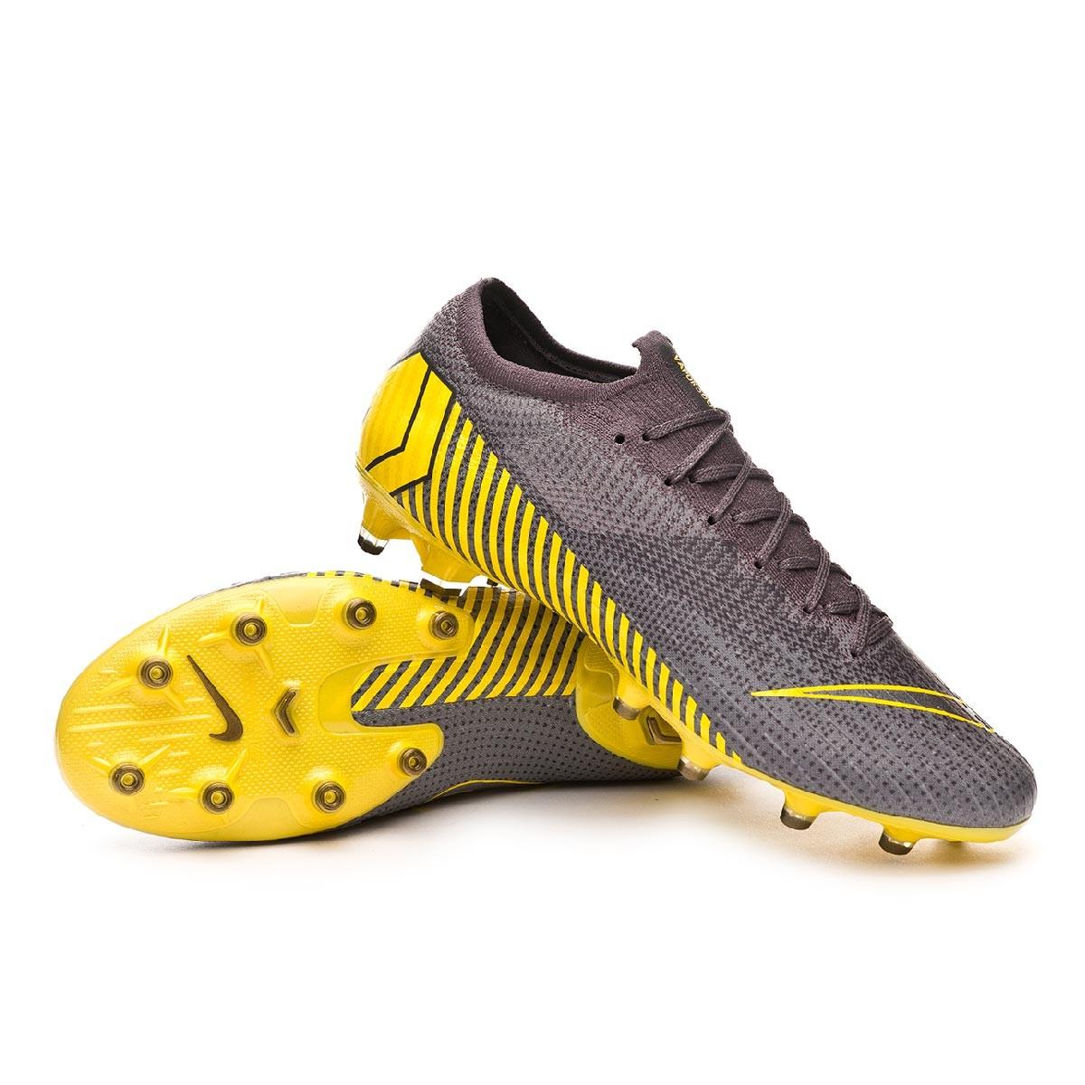 linda brillo de color elegir oficial Football Boots Nike Mercurial Vapor XII Elite AG-Pro Thunder grey ...