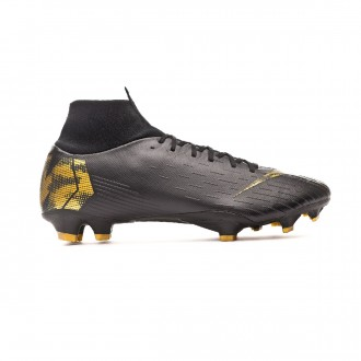 Bota  Nike Mercurial Superfly VI Pro FG Black-Metallic vivid gold