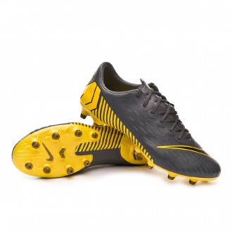 Bota  Nike Mercurial Vapor XII Pro AG-Pro Dark grey-Black-Optical yellow