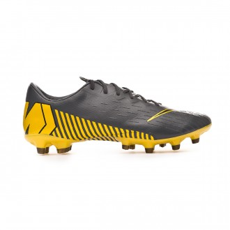 Football Boots  Nike Mercurial Vapor XII Pro AG-Pro Dark grey-Black-Optical yellow
