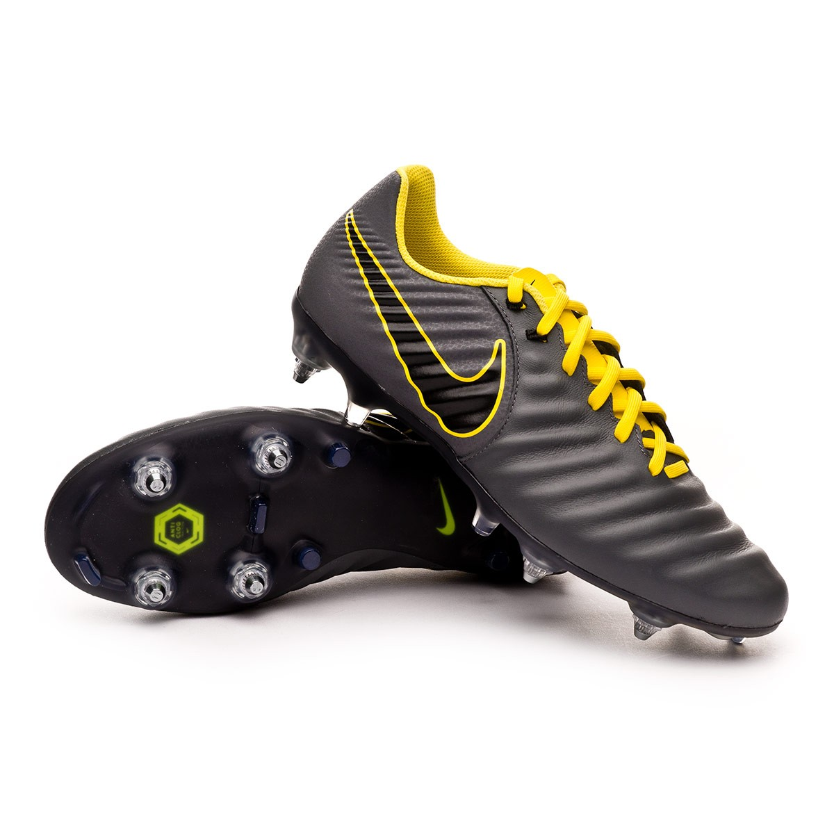 lowest price 0d9af fe891 Football Boots Nike Tiempo Legend VII Academy SG-Pro ACC Dark  grey-Black-Optical yellow - Football store Fútbol Emotion
