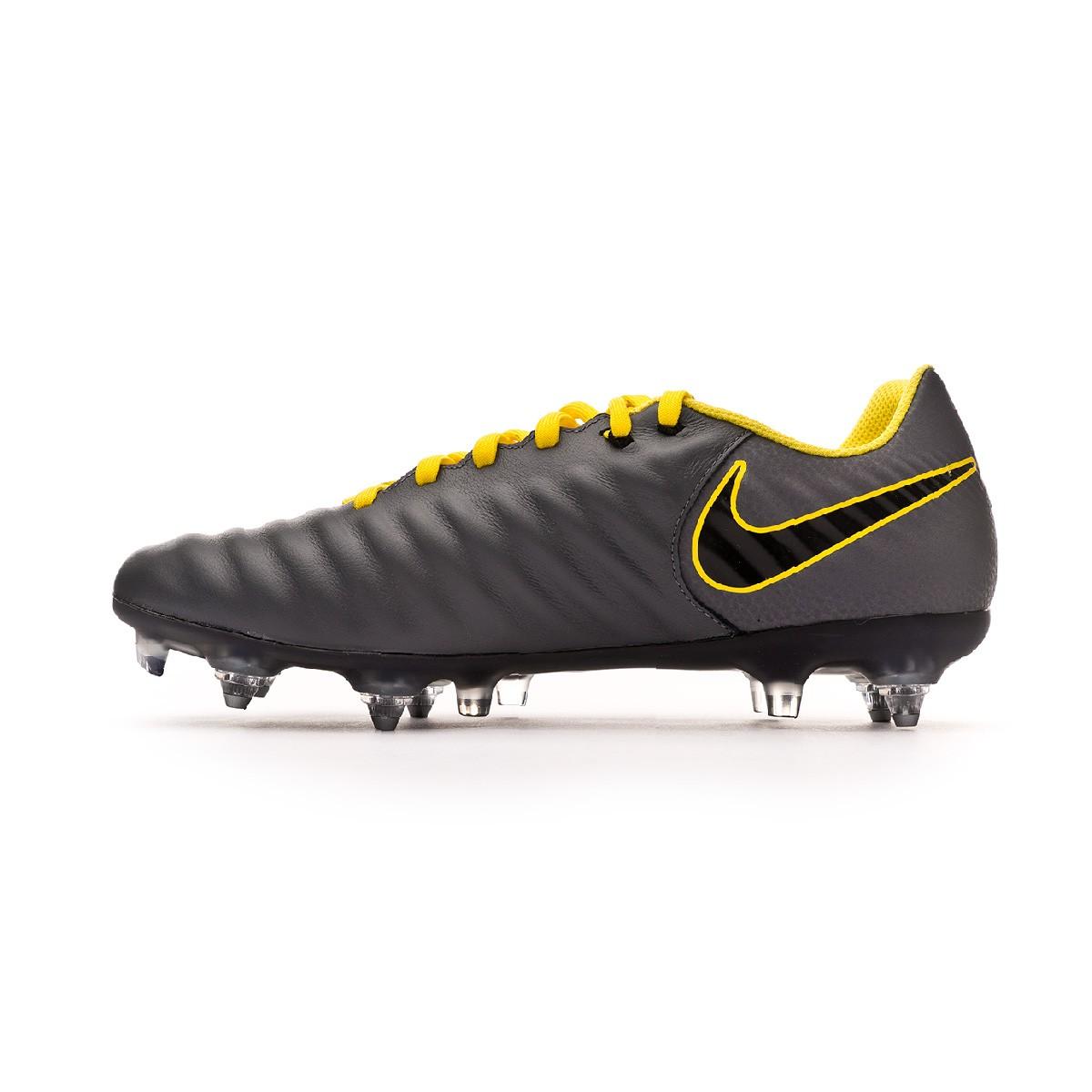 b2d5acebbde Football Boots Nike Tiempo Legend VII Academy SG-Pro ACC Dark grey-Black-Optical  yellow - Football store Fútbol Emotion