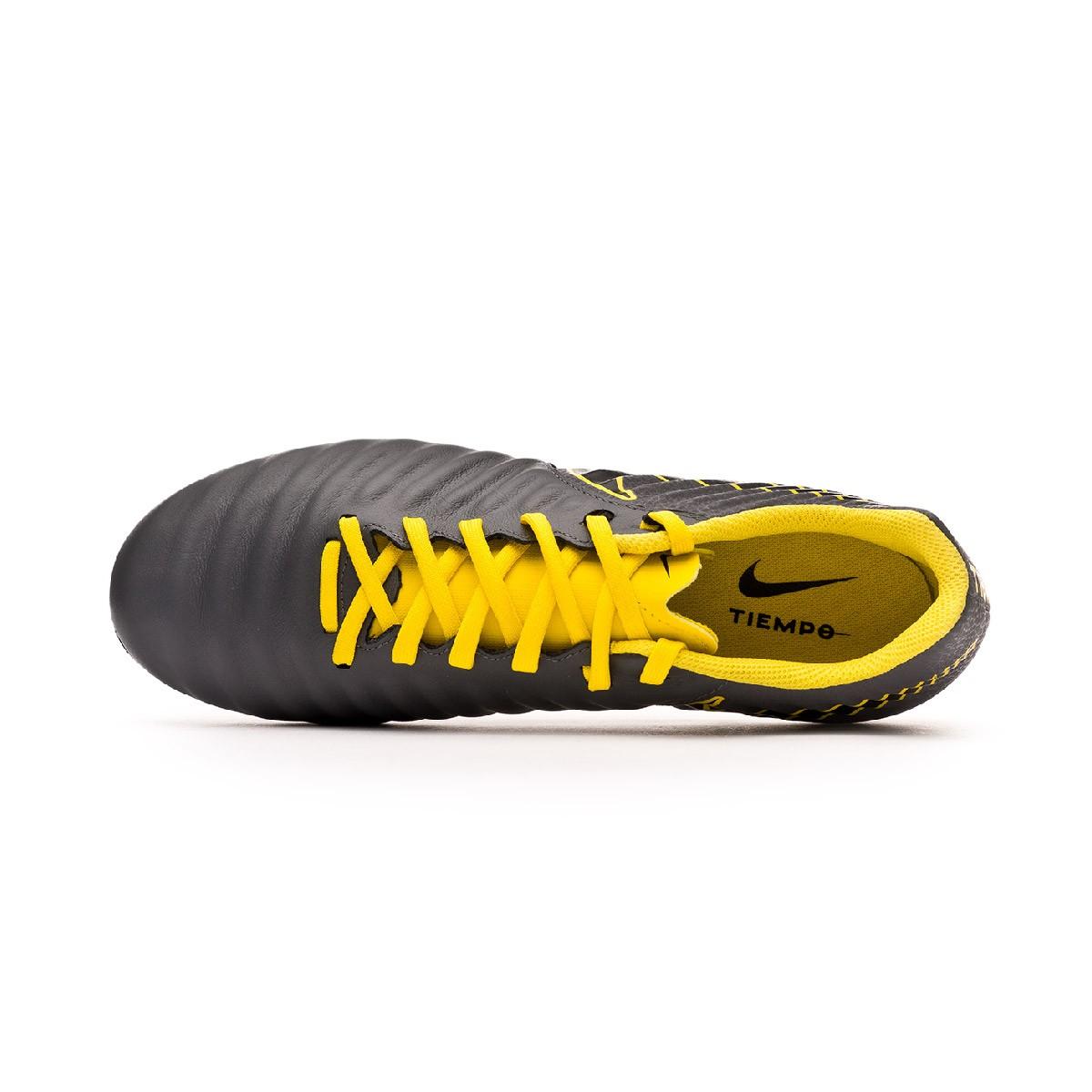 d4962e2af Football Boots Nike Tiempo Legend VII Academy SG-Pro ACC Dark  grey-Black-Optical yellow - Football store Fútbol Emotion