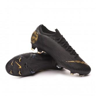 Bota  Nike Mercurial Vapor XII Elite FG Black-Metallic vivid gold