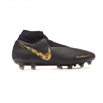 Bota  Nike Phantom Vision Elite DF AG-Pro Black-Metallic vivid gold