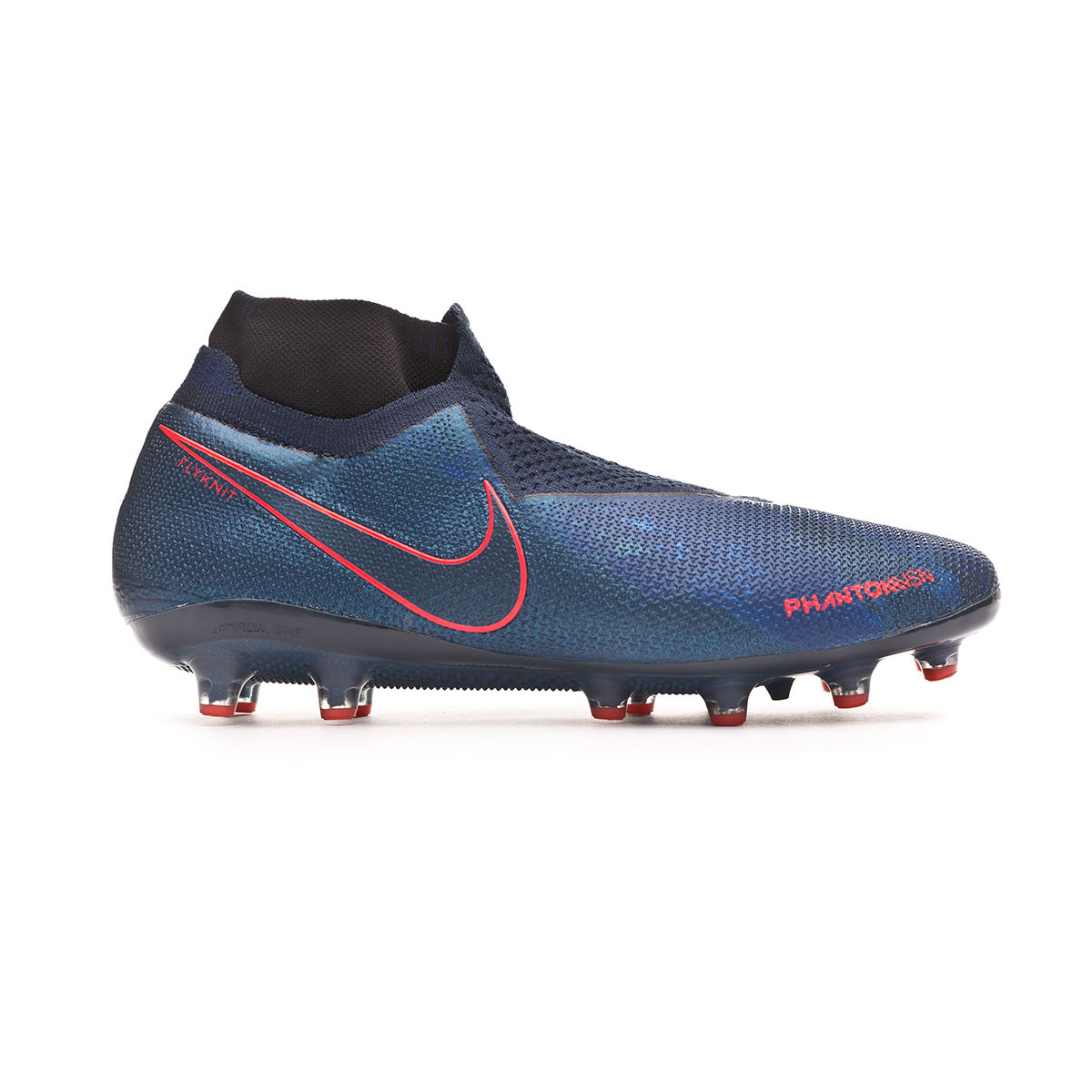 Ataque de nervios recuperar Acurrucarse  Football Boots Nike Phantom Vision Elite DF AG-Pro Obsidian-Black-Blue void  - Football store Fútbol Emotion