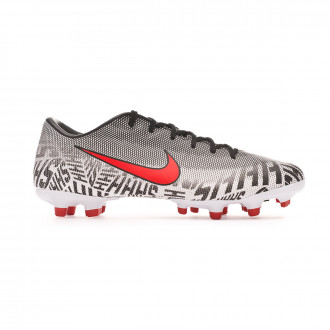 Football Boots Nike Mercurial Vapor XII Academy Neymar Jr MG White-Challenge red-Black