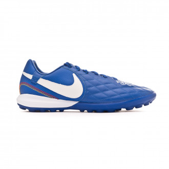 Football Boot  Nike Lunar LegendX VII Pro 10R Turf Game royal-White