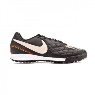 Sapatilhas Nike Tiempo LegendX VII Academy 10R Turf Black-Light orewood-Metallic gold