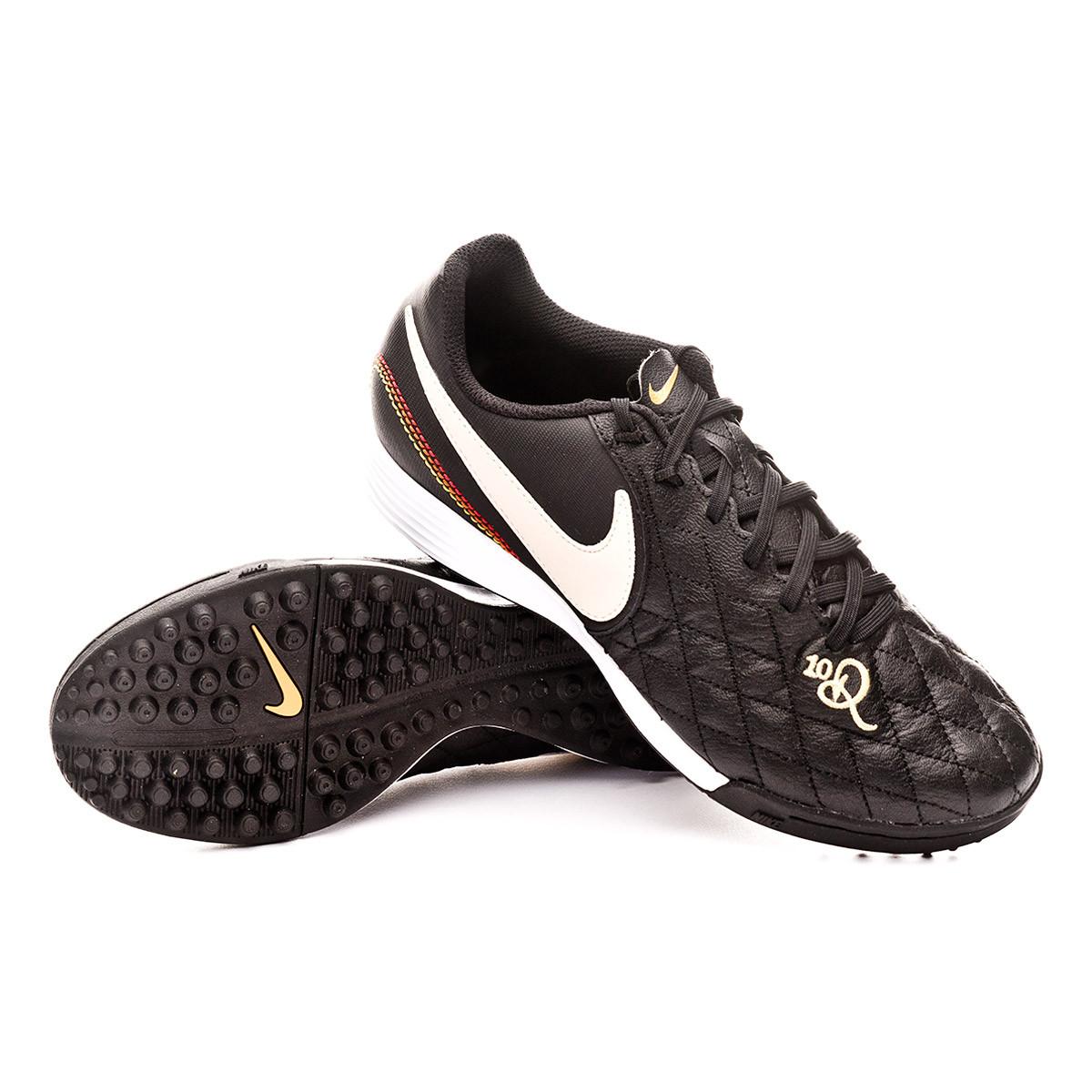 232bf2c72 Football Boot Nike Tiempo LegendX VII Academy 10R Turf Black-Light  orewood-Metallic gold - Football store Fútbol Emotion