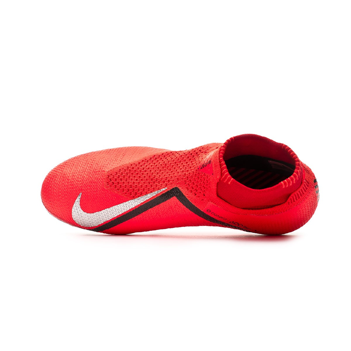 19f2361a791a8 Chuteira Nike Phantom Vision Elite DF FG Bright crimson-Metallic silver -  Loja de futebol Fútbol Emotion