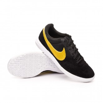 Zapatilla  Nike Tiempo Premier II Sala IC Black-Metallic vivid gold-White