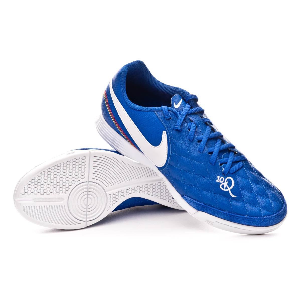 Disipar Bajar alcohol  Futsal Boot Nike Tiempo LegendX VII Academy 10R IC Game royal-White -  Football store Fútbol Emotion