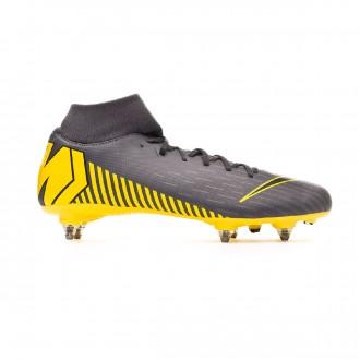 Zapatos de fútbol  Nike Mercurial Superfly VI Academy SG-Pro Dark grey-Black