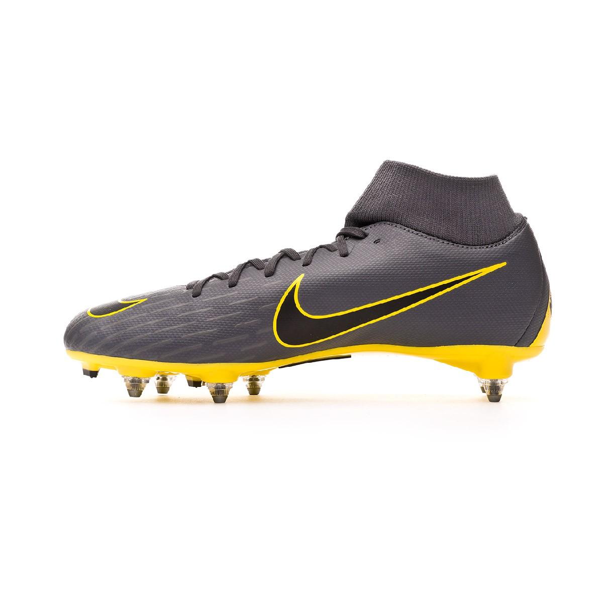 5d3b8235c Football Boots Nike Mercurial Superfly VI Academy SG-Pro Dark grey-Black -  Football store Fútbol Emotion