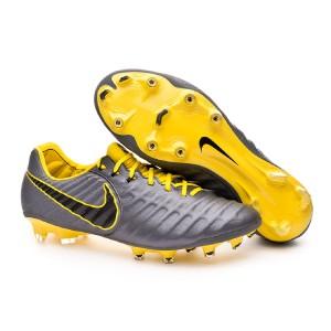 Permanecer Paquete o empaquetar colegio  Football Boots Nike Tiempo Legend VII Elite FG Dark grey-Optical yellow- Black - Football store Fútbol Emotion