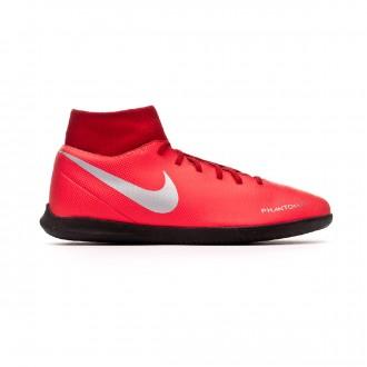 Zapatilla  Nike Phantom Vision Club DF IC Bright crimson-Metallic silver