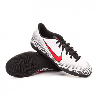 Zapatilla Nike Mercurial VaporX XII Club Neymar Jr IC White-Challenge  red-Black a3ce4862d0fe0