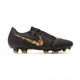 Football Boots  Nike Kids Phantom Venom Academy FG Black-Metallic vivid gold