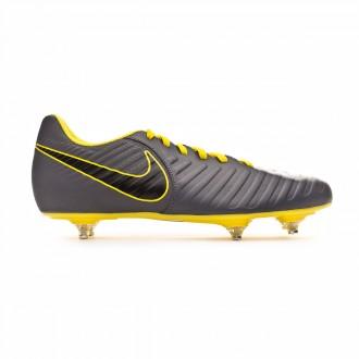 Zapatos de fútbol  Nike Tiempo Legend VII Club SG Dark grey-Black-Optical yellow