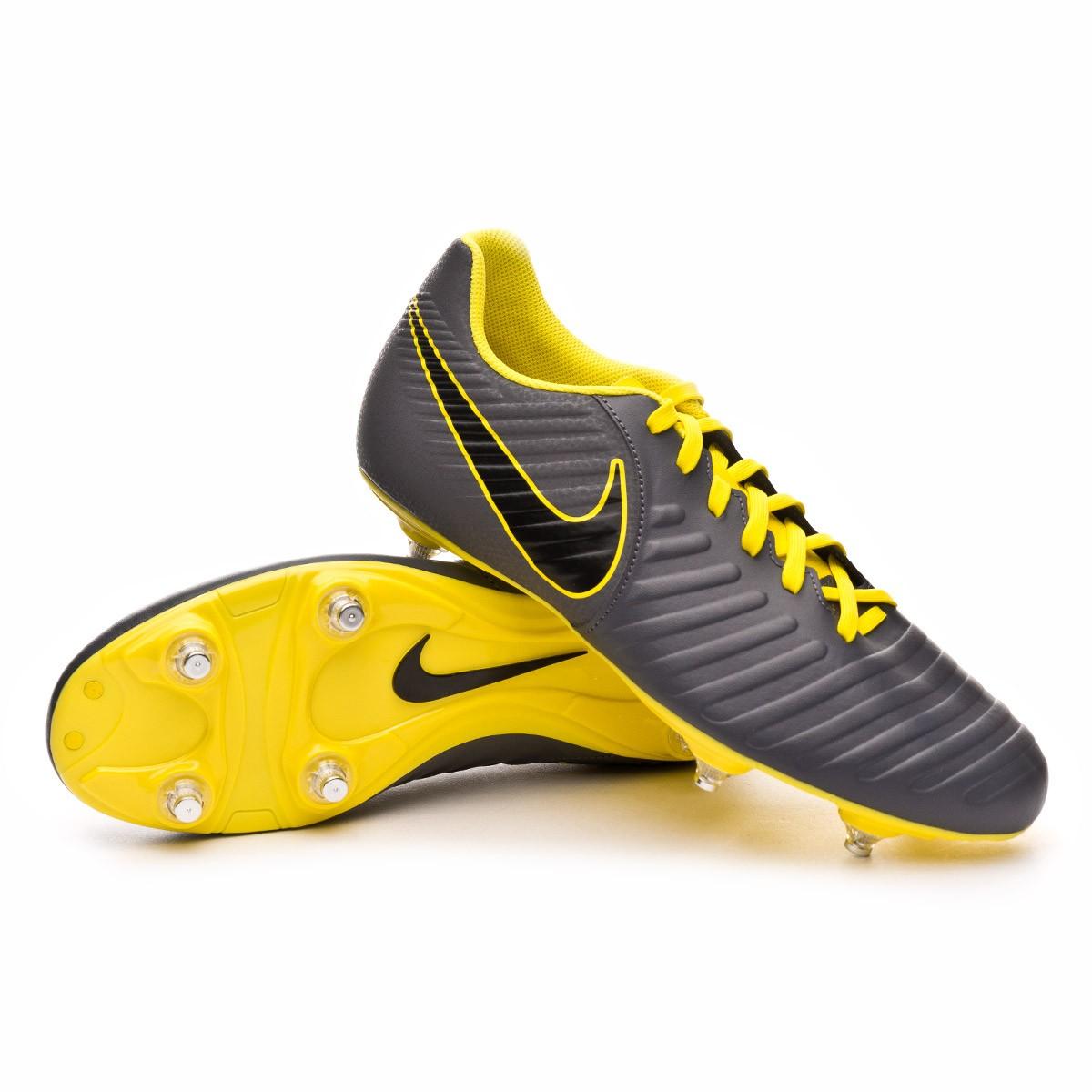 72ec67cff13 Football Boots Nike Tiempo Legend VII Club SG Dark grey-Black-Optical yellow  - Football store Fútbol Emotion