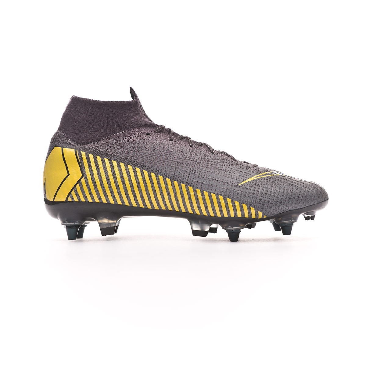 Boot Nike Mercurial Superfly VI Elite Anti-Clog SG-Pro Thunder  grey-Black-Dark grey - Leaked soccer 06158d2be7592
