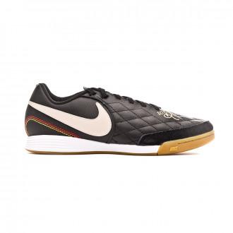 Zapatilla Nike Tiempo LegendX VII Academy 10R IC Black-Light orewood-Metallic gold