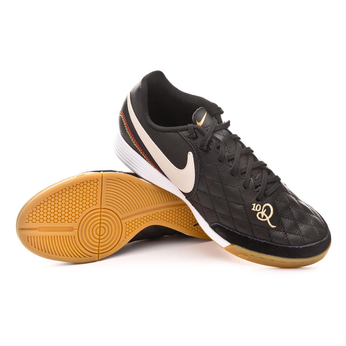 Hecho un desastre Arriba Cocinando  Futsal Boot Nike Tiempo LegendX VII Academy 10R IC Black-Light  orewood-Metallic gold - Football store Fútbol Emotion