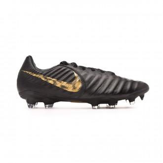 Bota  Nike Tiempo Legend VI Pro FG Black-Metallic vivid gold