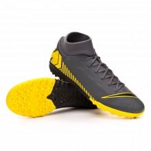 Zapatilla Mercurial SuperflyX VI Academy Turf Dark grey-Black-Optical yellow