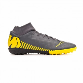 Zapatilla Nike Mercurial SuperflyX VI Academy Turf Dark grey-Black-Optical yellow
