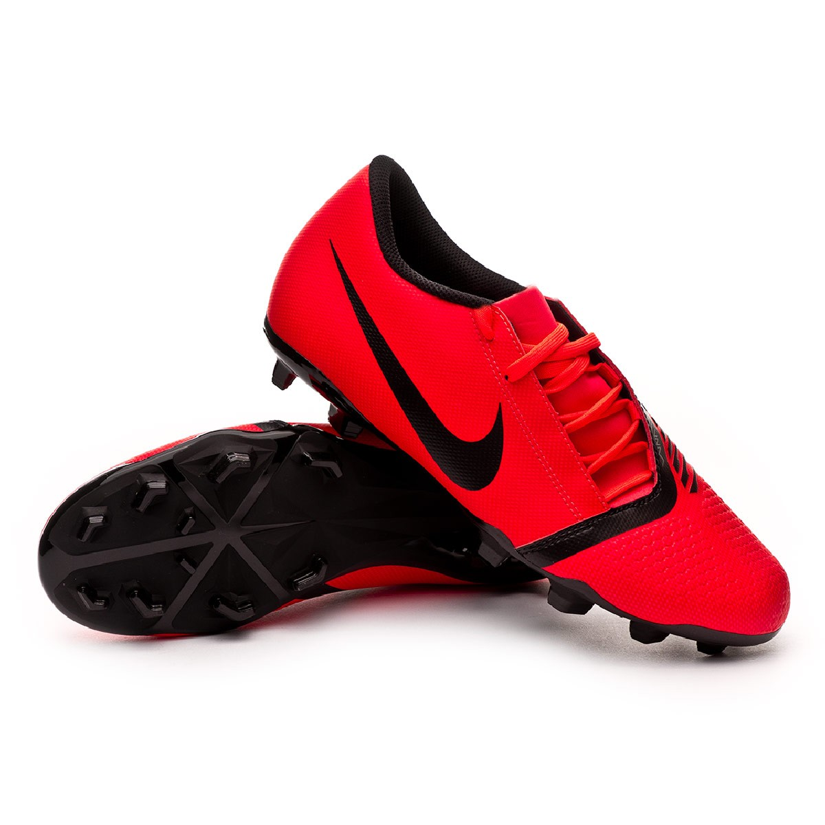 bosque Duquesa estrés  Football Boots Nike Phantom Venom Club FG Bright crimson-Black - Football  store Fútbol Emotion
