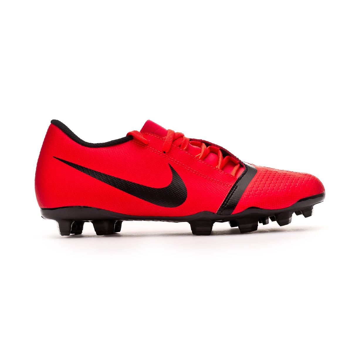 the latest 8ebe6 7bbd3 Chaussure de foot Nike Phantom Venom Club FG Bright crimson-Black -  Boutique de football Fútbol Emotion