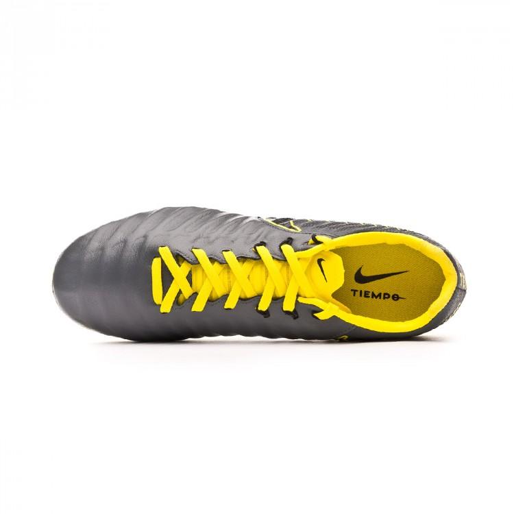 Bota de fútbol Nike Tiempo Legend VII Pro FG Dark grey-Black-Optical ... 07e8931abdf64