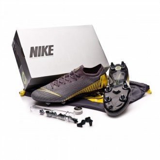 Chaussure de foot  Nike Mercurial Vapor XII Elite Anti-Clog SG-Pro Thunder grey-Black-Dark grey