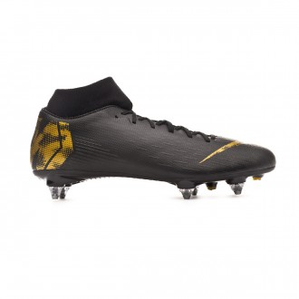 Bota  Nike Mercurial Superfly VI Academy SG-Pro Black-Metallic vivid gold