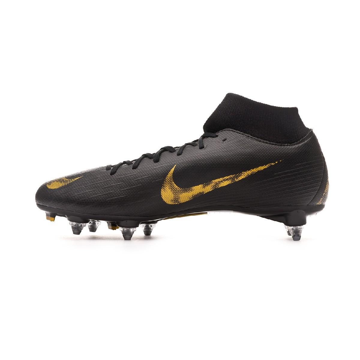 Zapatillas Nike Mercurial Superfly 6 Elite SG Pro Gris Negro