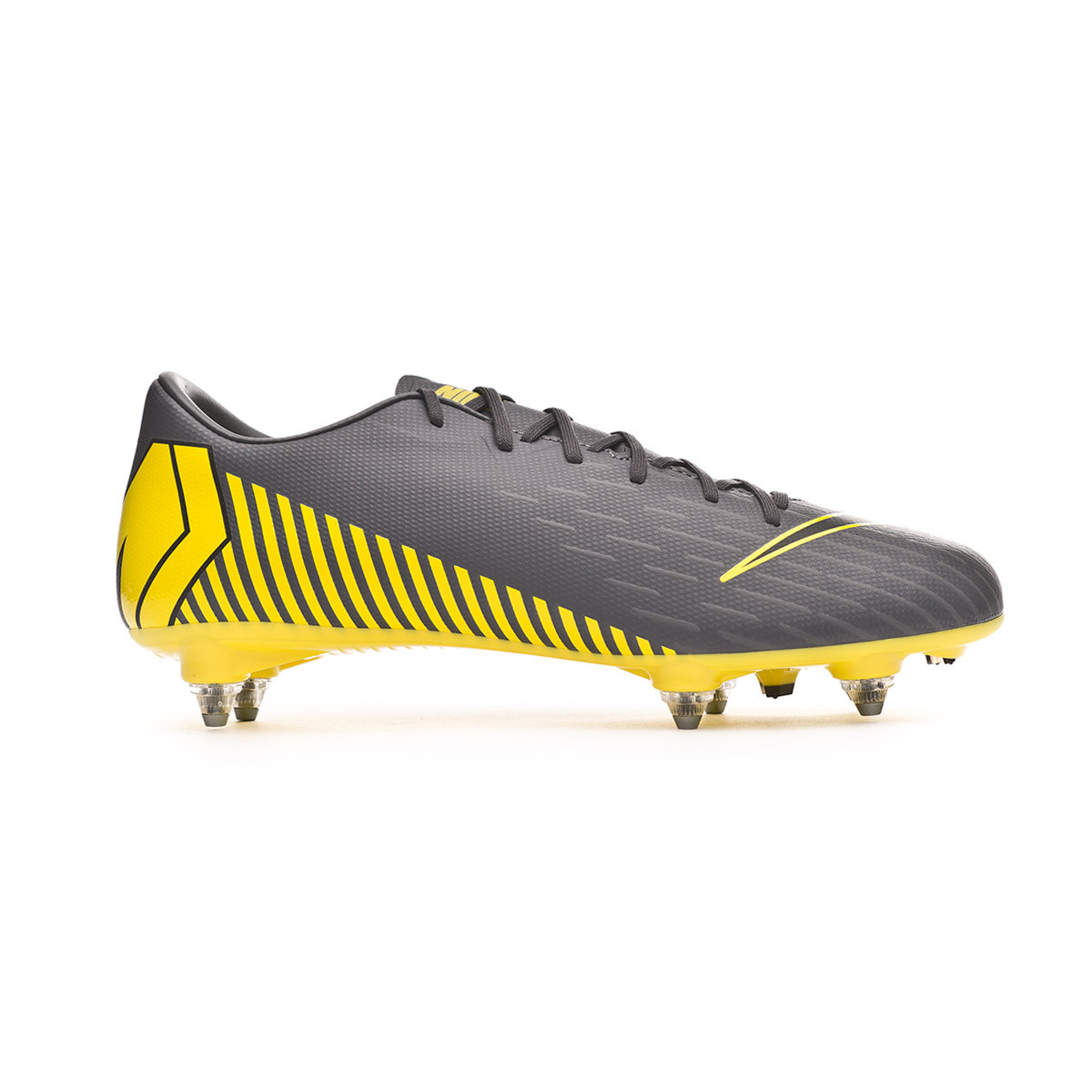 674631978 Football Boots Nike Mercurial Vapor XII Academy SG-Pro Dark grey-Black -  Football store Fútbol Emotion