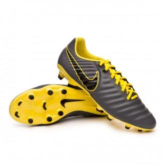 Bota Nike Tiempo Legend VII Academy FG Dark grey-Black-Optical yellow ce62c320d3e27