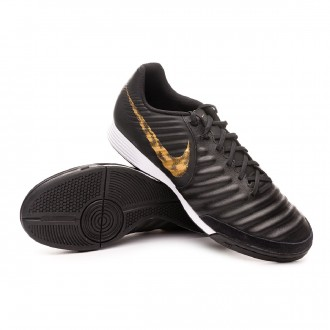 Zapatilla  Nike Tiempo LegendX VII Academy IC Black-Metallic vivid gold